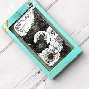 Kate Spade floral hard case phone iPhone 8 Plus